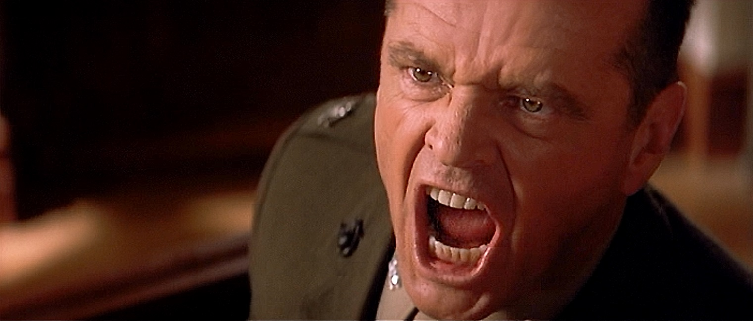 Image result for NICHOLSON IN A FEW GOOD MEN