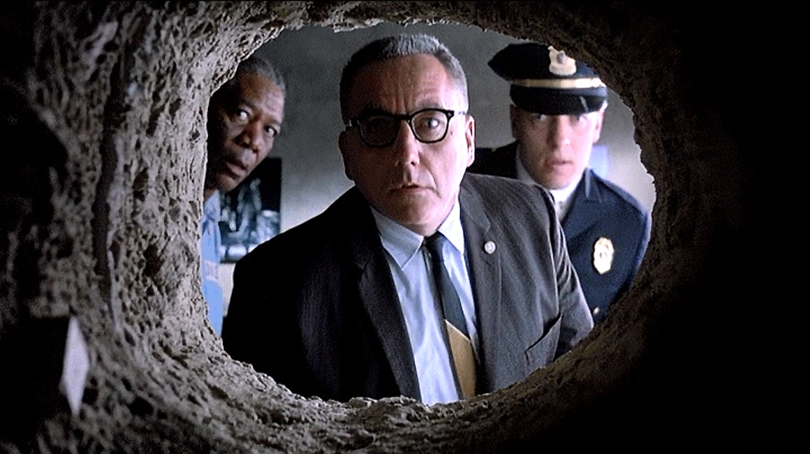 shawshank redemption camera angles The shawshank redemption is a 1994 american drama film that follows the life of andy dufresne and his time spent in shawshank, a maximum security prison in maine andy is a laid-back banker, accused of double murder for the murder of his wife and her lover after discovering their affair.